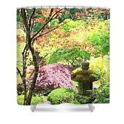 Peaceful Japanese Garden Shower Curtain