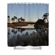 Peaceful Las Vegas Shower Curtain