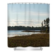 Peaceful Shower Curtain