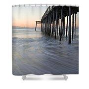 Peaceful Ocean Sunrise Shower Curtain