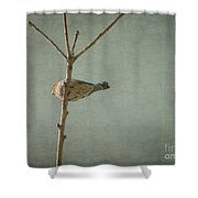 Peaceful Perch Shower Curtain
