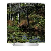 Peaceful Pond Shower Curtain
