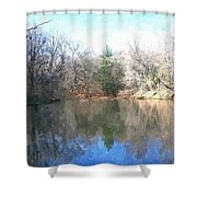 Peaceful Retreat 2 Shower Curtain