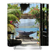 Peaceful Roatan Shower Curtain