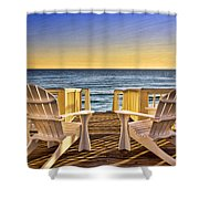 Peaceful Seclusion Shower Curtain