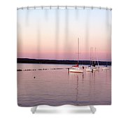 Peaceful Shores Shower Curtain