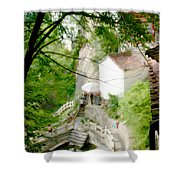 Peaceful Spot In China Shower Curtain
