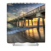 Peaceful Surf Shower Curtain