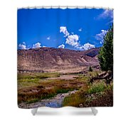 Peaceful Valley II Shower Curtain