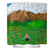 Peaceful Walk Shower Curtain