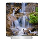 Peaceful Waterfall Shower Curtain