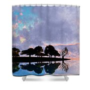 Peacefully Chaotic... Shower Curtain