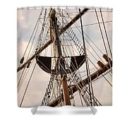 Peacemaker Rigging Shower Curtain