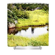Peacful Place Shower Curtain