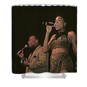 Peaches And Herb Shower Curtain