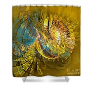 Peacock 2 Shower Curtain