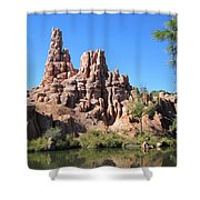 Peak And Valley Shower Curtain