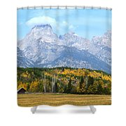 Peak Cloud Shower Curtain