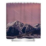 Peak Curiosity Shower Curtain
