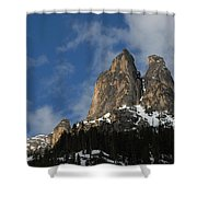 Peaks In The North Cascades Shower Curtain