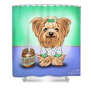 Peanut Butter Lover Shower Curtain
