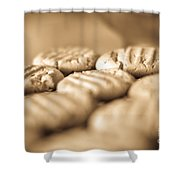 Peanut Butter Delights Shower Curtain