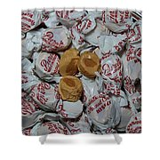Peanut Butter Kisses - Candy - Sweets - Treats Shower Curtain