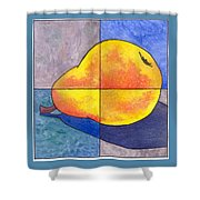 Pear I Shower Curtain