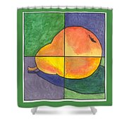 Pear II Shower Curtain