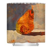 Pear Patterns Shower Curtain