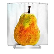 Pear Still Life Shower Curtain