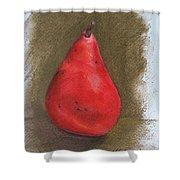 Pear Study 2 Shower Curtain