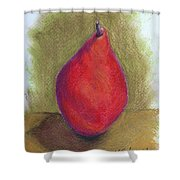 Pear Study 3 Shower Curtain