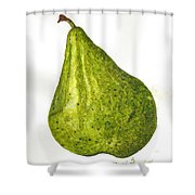 Pear Study#3 Shower Curtain
