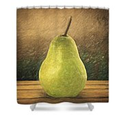 Pear Shower Curtain
