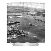 Pearl Harbor Shower Curtain