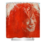 Pearl Of A Girl Shower Curtain