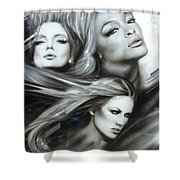 Pearl Passions Shower Curtain