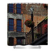 Pearl Street Grill Shower Curtain
