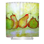 Pears 2 Shower Curtain