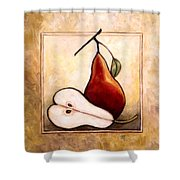 Pears Diptych Part Two Shower Curtain
