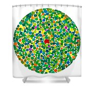 Peas On Earth Shower Curtain