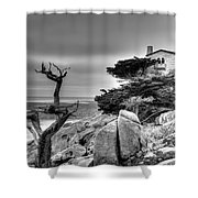 Pebble Beach 2 Shower Curtain
