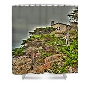 Pebble Beach 3 Shower Curtain