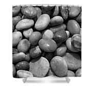 Pebbles Chesil Uk  Shower Curtain