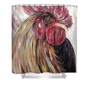 Pecking Order Shower Curtain