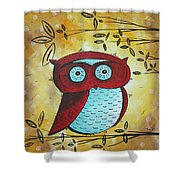 Peekaboo By Madart Shower Curtain
