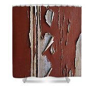 Peeling Paint Shower Curtain by Carlos Caetano