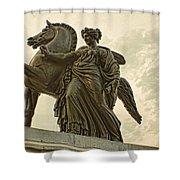 Pegasus Two Shower Curtain