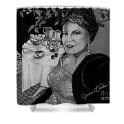 Peggy Lee Shower Curtain